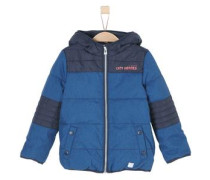 Multifunktionale Winterjacke blau