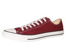 Chuck Taylor All Star Seasonal OX Sneaker rot / bordeaux