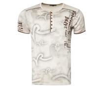 T-Shirt mit lässigem Allover-Print