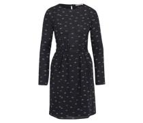 Kleid 'Josefine Waterlily' schwarz