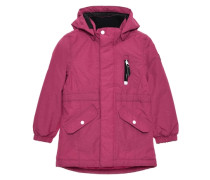Winterjacke 'nitmedenim' pink