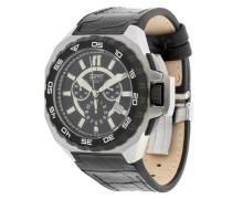 Armbanduhr Asopos Chronograph El101011F02 schwarz