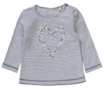 Baby Langarmshirt für Mädchen dunkelblau / pastellgelb / rosa / weiß