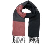 Schal Langer rot / schwarz