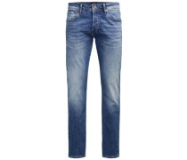 Slim Fit Jeans Blue Denim blau
