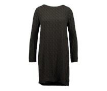 Langärmliges Kleid aus Viskose 'Sara' braun / grün
