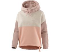 Sweatshirt grau / puder / altrosa
