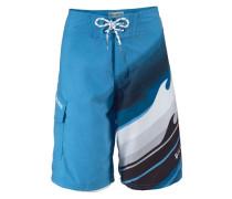 Shorts blau / schwarz