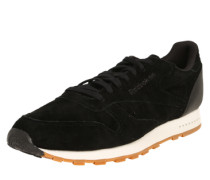 Sneaker 'classic Leather' schwarz
