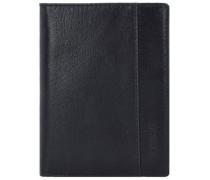 'Buddy' Geldbörse Leder 125 cm schwarz