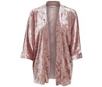 Samt Kimono rosé