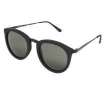 Sonnenbrille 'No Smirking' schwarz