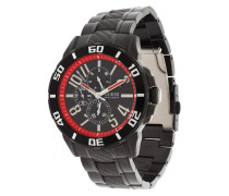 Armbanduhr Racer rot / schwarz