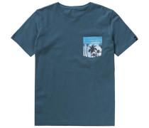 T-Shirt 'pickup' für Jungen blau