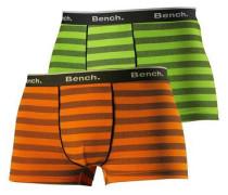 Boxer (2 Stück) hellgrün / orange