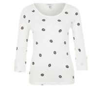 Shirt mit 3/4-Arm 'Onljess' weiß