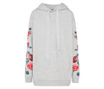 Sweatshirt 'rose' hellgrau / mischfarben