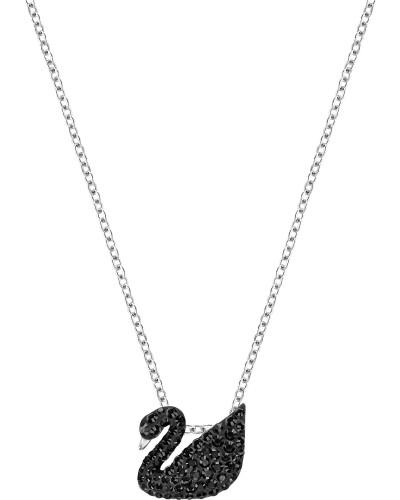 Kette 'Iconic Swan' schwarz / silber