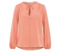Bluse 'V-Neck Strap Blouse' lachs