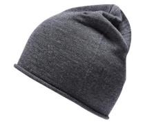 Merino-Mütze grau