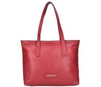 'Plume Soft Donna' Shopper Tasche rot