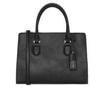 Handtasche im klassischen Look schwarz