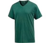 V-Shirt Herren dunkelgrün