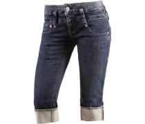 'Pitch' Jeansshorts Damen dunkelblau