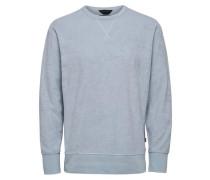 Crew Neck-Sweatshirt hellblau