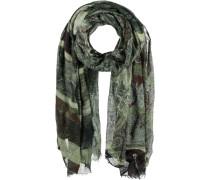 Woll-Seiden Schal braun