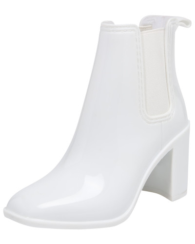 Ankle Boots weiß