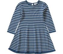 Kinder Strickkleid 'nitgetimma' blau / weiß