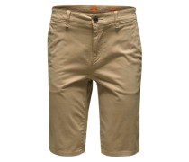 Bermuda mit Eingrifftaschen 'Schino-Slim-Shorts-D' beige