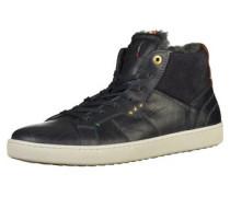 Sneaker dunkelblau / kastanienbraun / weiß