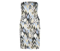 Jerseykleid 'New Amed' blau / gelb / mischfarben