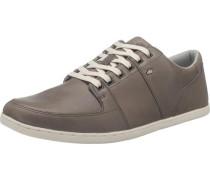 Sportlicher Schnürschuh 'Spencer Leather' grau