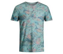 T-Shirt blau / türkis