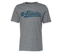 T-Shirt 'signature SS' grau
