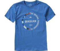 T-Shirt Revenge für Jungen blau