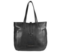 Plume Soft Donna Shopper Leder 18 cm schwarz