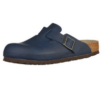 Clogs Boston blau