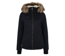 Winterjacke 'Shortcut' blau