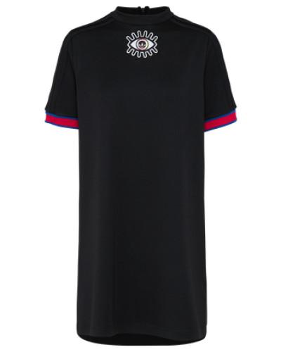 Kleid 'ea' schwarz