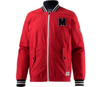 Collegejacke rot