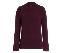 leichter Pullover weinrot