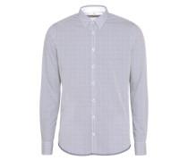 Oberhemd blau / weiß