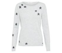 Pullover 'Star' grau