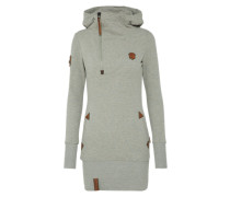 Hoody Kleid 'Ankerbraut V' graumeliert