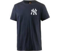 Athletic New York Yankees T-Shirt Herren navy