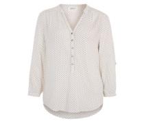 Leichte Bluse beige / weiß